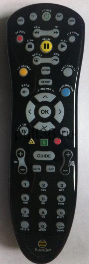 Пульт ДУ Motorola Beeline RCU01 mxv3 ОРИГИНАЛЬНЫЙ (URC172500-00R001352501)
