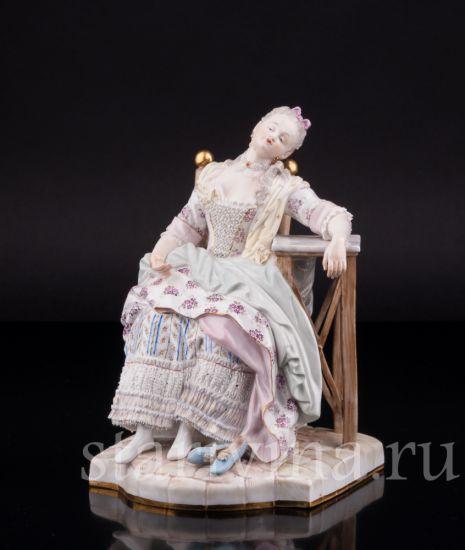 Изображение Спящая Луиза, Meissen, Германия, кон 19 в