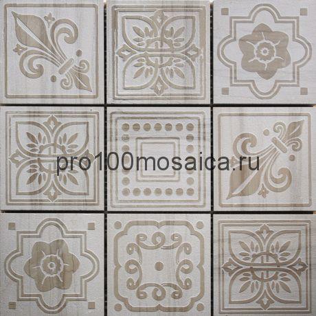 TRG-12 Мозаика 98*98 серия TRAFALGAR, размер, мм: 300*300*10 (Skalini)