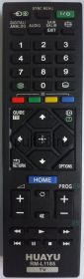 Пульт ДУ Sony RM-L1185 корпус SONY RM-ED054 универсальный