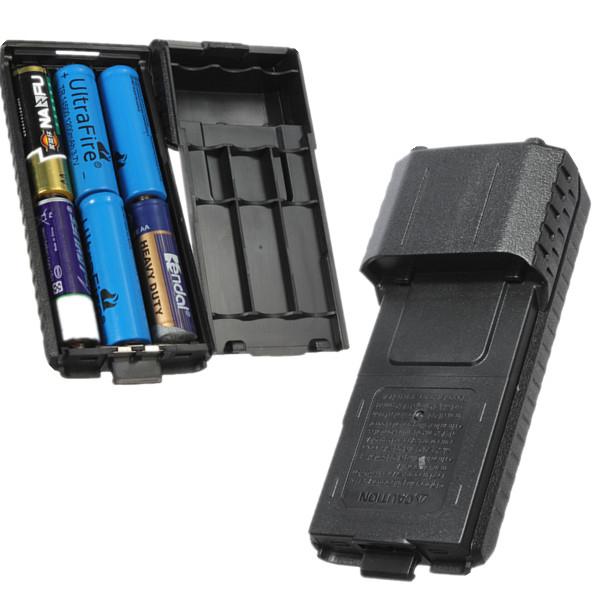 Блок для батареек АА для раций Baofeng UV-5R и DM-5R Plus