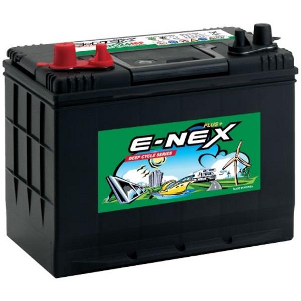 Автомобильный аккумулятор АКБ ATLAS (Атлас) E-NEX XDC27MF 90Ач п.п.