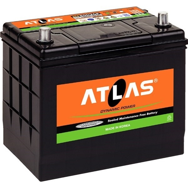 Автомобильный аккумулятор АКБ ATLAS (Атлас) MF105D31R 90Ач п.п.