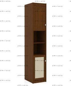 Шкаф-пенал Итальянские мотивы (51.201.03) МДФ, 45х58х228