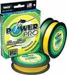 Плетеный шнур Power Pro, размотка 135м,  желтый