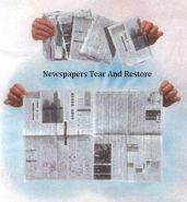 Восстановление порванной газеты (+ ОБУЧЕНИЕ) 5 шт