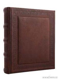 Подарочный фотоальбом Аристократ, натуральная кожа