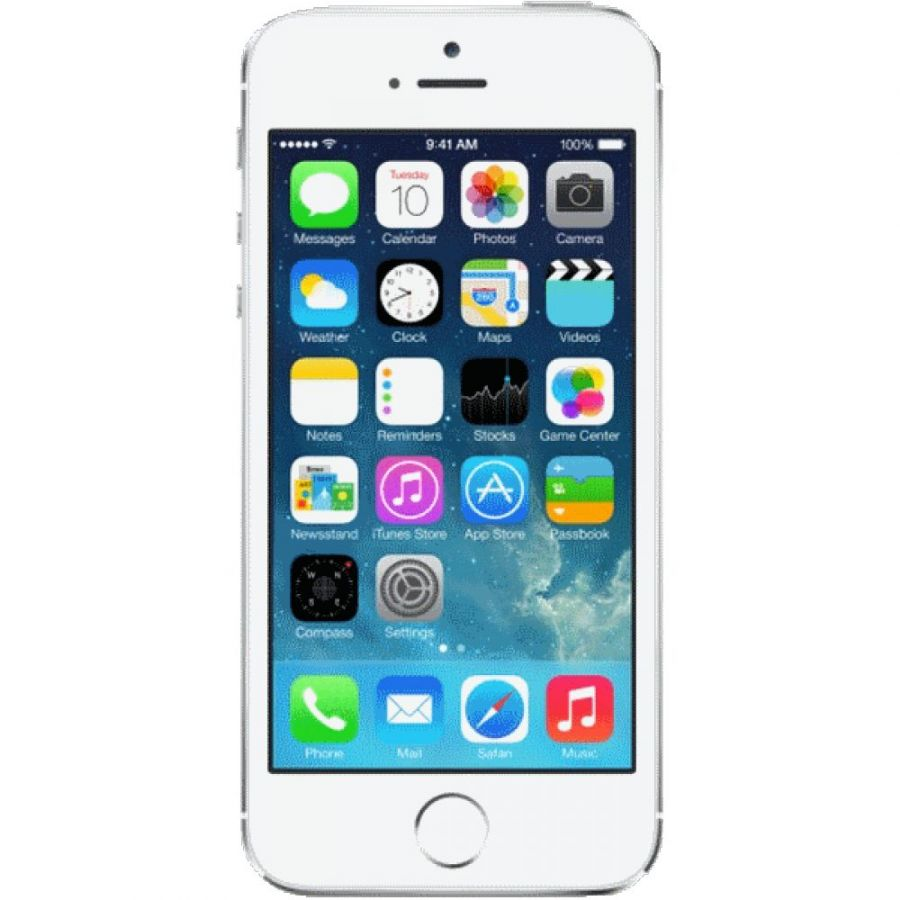 Apple iPhone 5S 16Gb Silver  A1457/A1530 восстановленный FF352RU/A