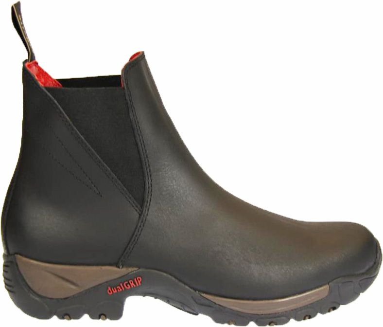"""Ботинки для верховой езды """"Chester"""" из вощеной кожи, черные"""