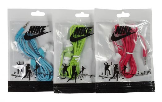 Наушники вакуумные Nike (в пакетике)