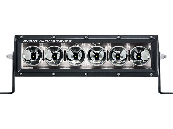 """Однорядная светодиодная балка с белой подсветкой Rigid Industries Radiance 10"""" (6 диодов)"""