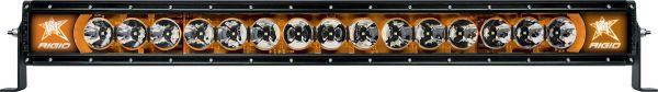 """Однорядная светодиодная балка с янтарной подсветкой Rigid Industries Radiance 30"""" (15 диодов)"""