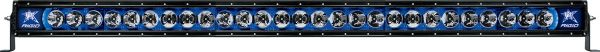 """Однорядная светодиодная балка с синей подсветкой Rigid Industries Radiance PLUS 50"""" (27 диодов)"""