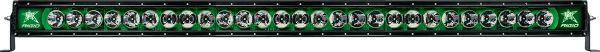 """Однорядная светодиодная балка с зеленой подсветкой Rigid Indstries Radiance 50"""" (27 диодов)"""