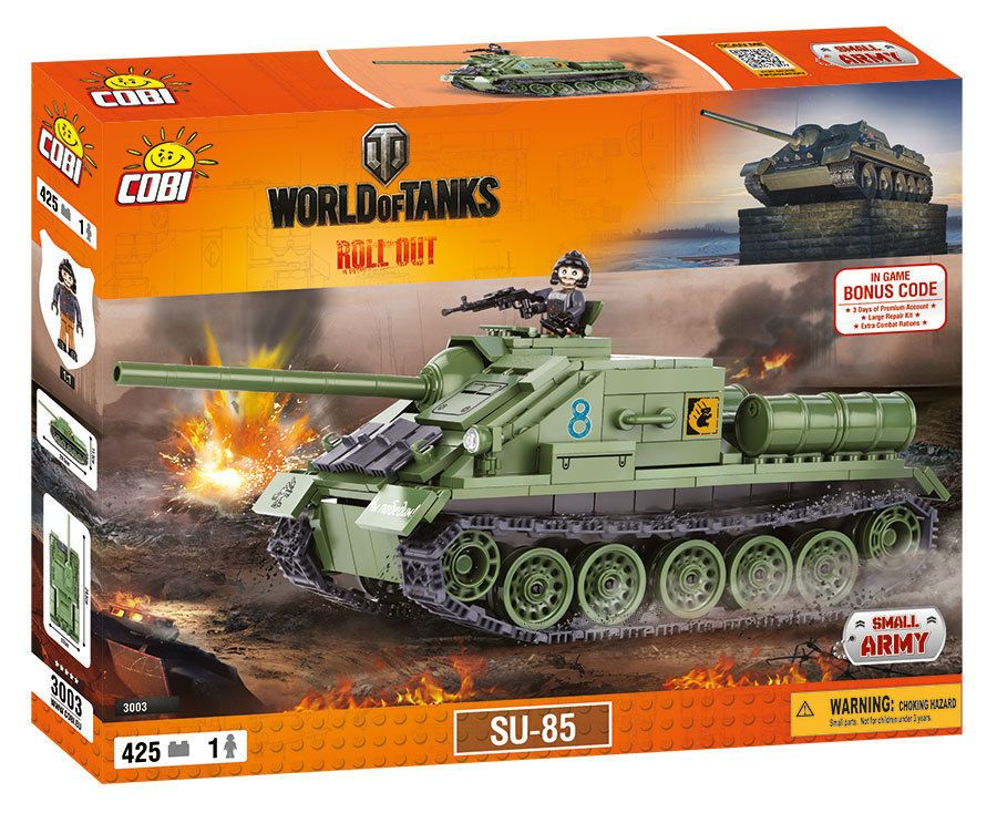 КОБИ World of Tanks - Танк СУ-85 COBI-3003