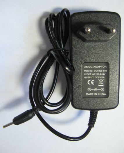 Блок питания 9V 2А д/планшета