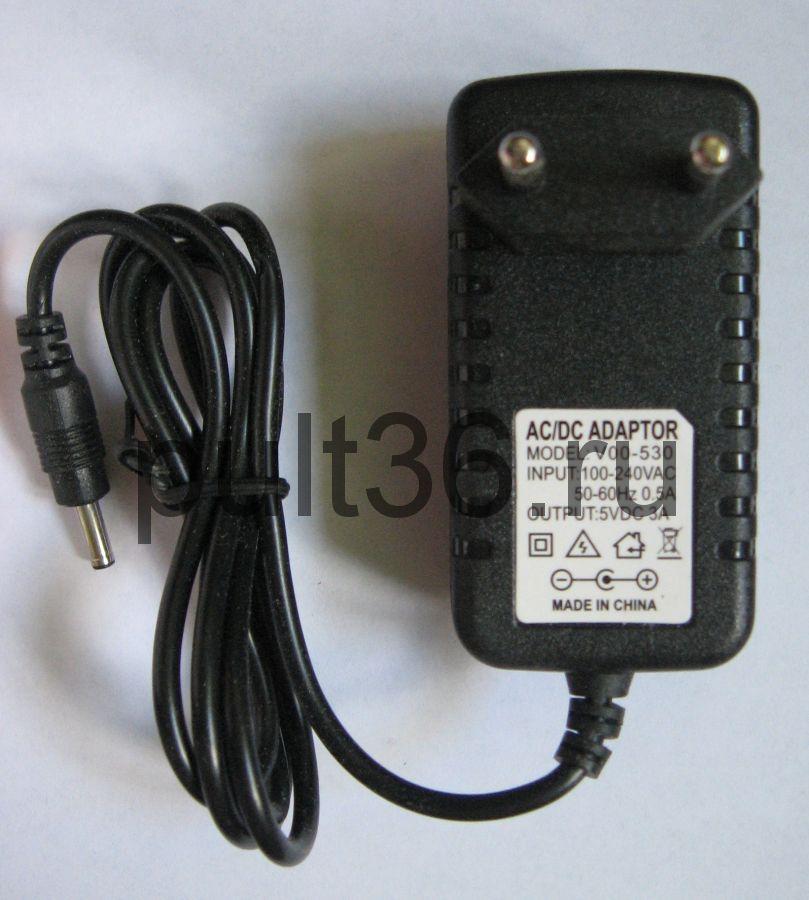 Блок питания 5V 3A штекер 3,5 д/ресивера