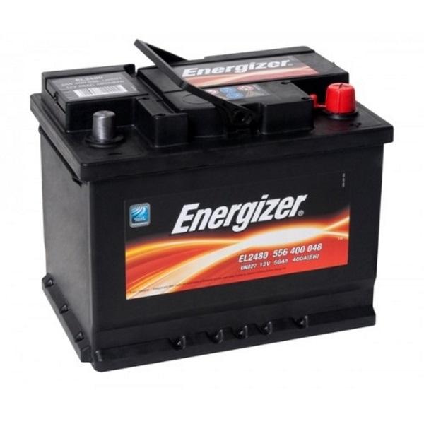 Автомобильный аккумулятор АКБ Energizer (Энерджайзер) EL2480 556 400 048 56Ач о.п.