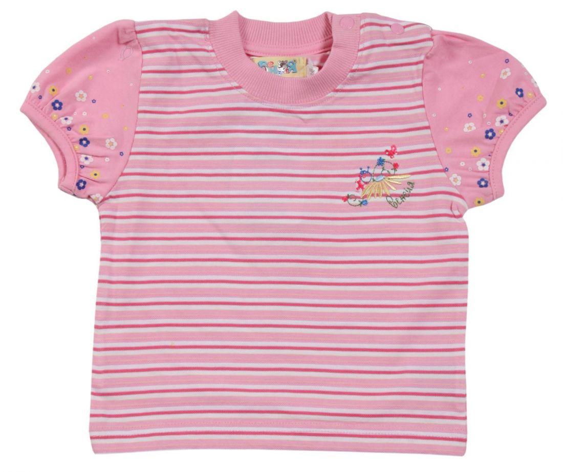 Розовая майка для девочки Венейя