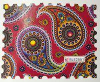 Водная наклейка для дизайна ногтей BLE 2551