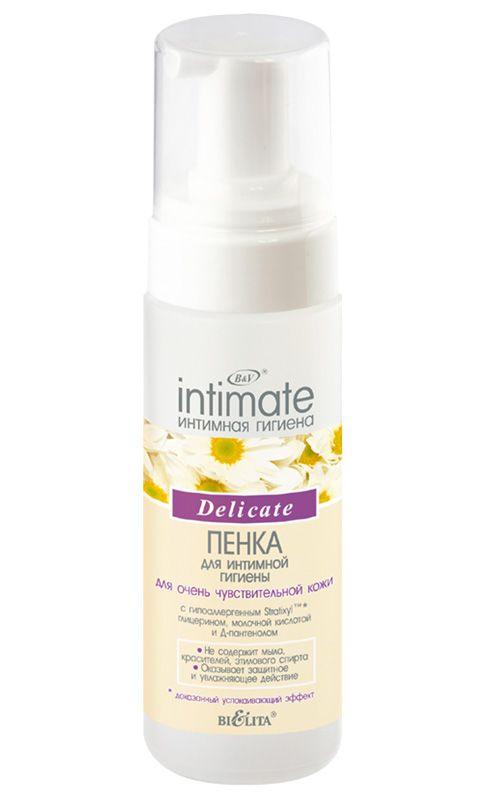 INTIMATE Пенка для интимной гигиены для очень чувствительной кожи Delicate 175 мл