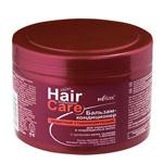 БАЛЬЗАМ-КОНДИЦИОНЕР защитный стабилизирующий для окрашенных и поврежденных волос с протеинами шелка, кашемира и ментолом 500 мл