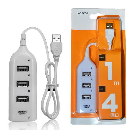 Концентратор USB (HUB)  на 4 гнезда JC-21511