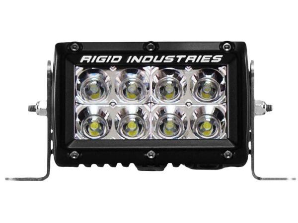 """Двухрядная светодиодная балка ближнего света Rigid Industries 4"""" E-Серия (8 светодиодов) Ближний свет"""