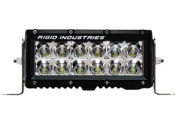 """Двухрядная светодиодная балка ближнего света Rigid Industries 6"""" E-Серия (12 светодиодов)"""