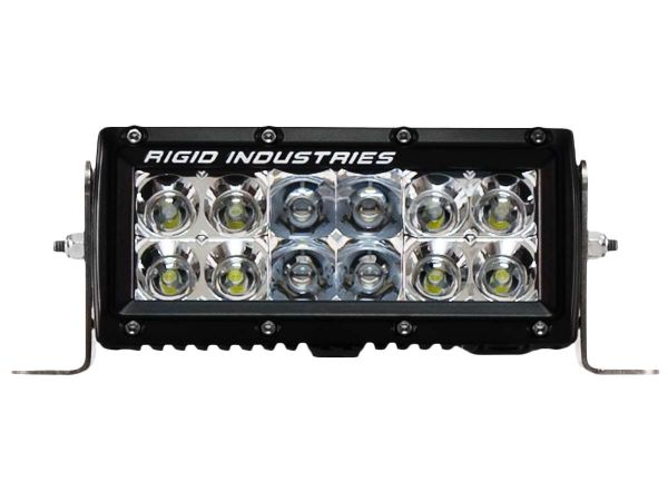 """Двухрядная светодиодная балка Rigid Industries 6"""" E-Серия (12 светодиодов) Комбинированный свет (Ближний/Дальний)"""