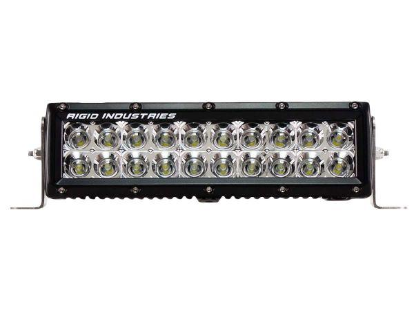 """Двухрядная светодиодная балка Rigid Industries 10"""" E-Серия (20 светодиодов) Ближний свет"""