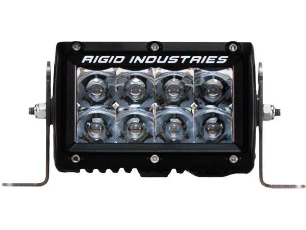 """Двухрядная светодиодная балка Rigid Industries 4"""" E-Серия  (8 светодиодов)  Комбинированный свет - Янтарный цвет (Ближний/Дальний)"""