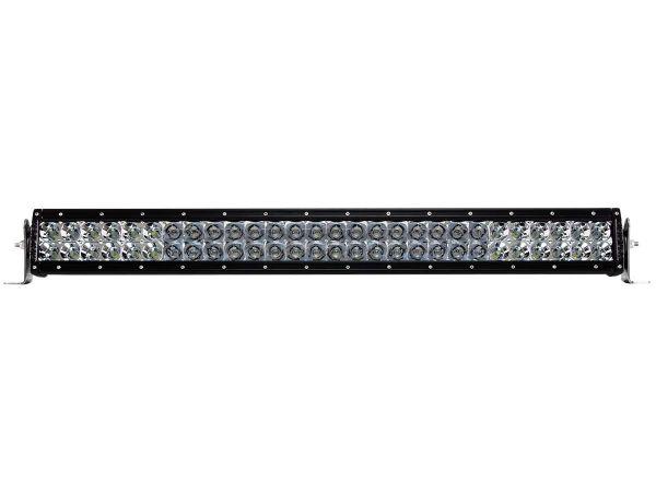"""Двухрядная светодиодная балка Rigid Industries 28"""" E-Серия (56 светодиодов) Комбинированный свет - Янтарный  цвет (Ближний/Дальний)"""