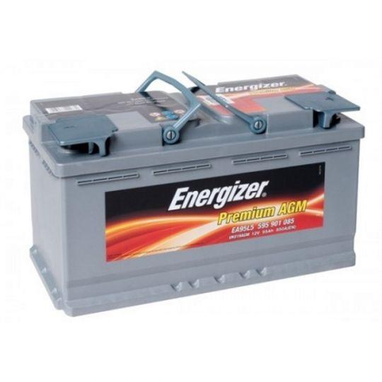Автомобильный аккумулятор АКБ Energizer (Энерджайзер) PREMIUM AGM EA95L5 595 901 085 95Ач о.п.