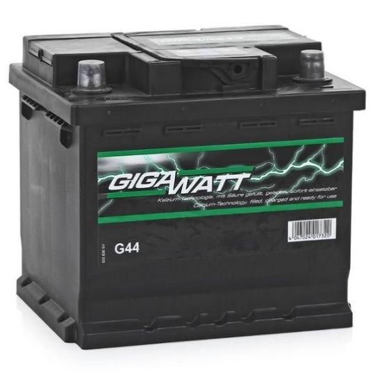Автомобильный аккумулятор АКБ GigaWatt (Гигават) G44L 545 413 040 45Ач п.п.