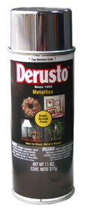 КРАСКА DERUSTO METALLIC