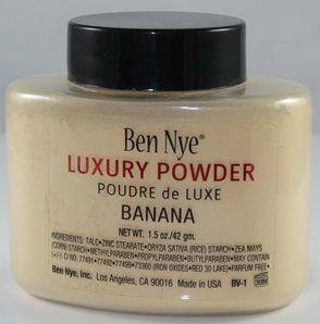Рассыпчатая пудра Ben Nye Luxury порошок Банан Loose Powder