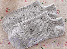 Носочки короткие серые (16 см)