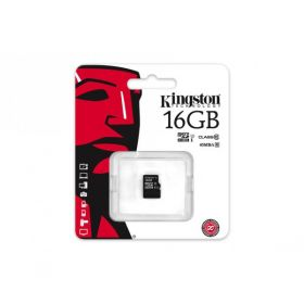 Карта памяти KINGSTON 16GB microSD HC U1 45MB/s(R) Class10