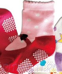 Носочки Балетки с бантиком (с тормозками) 12 см
