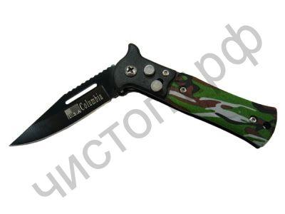Нож перочинный PT-TRK21 (107 )с клипсой (6/15,5см)
