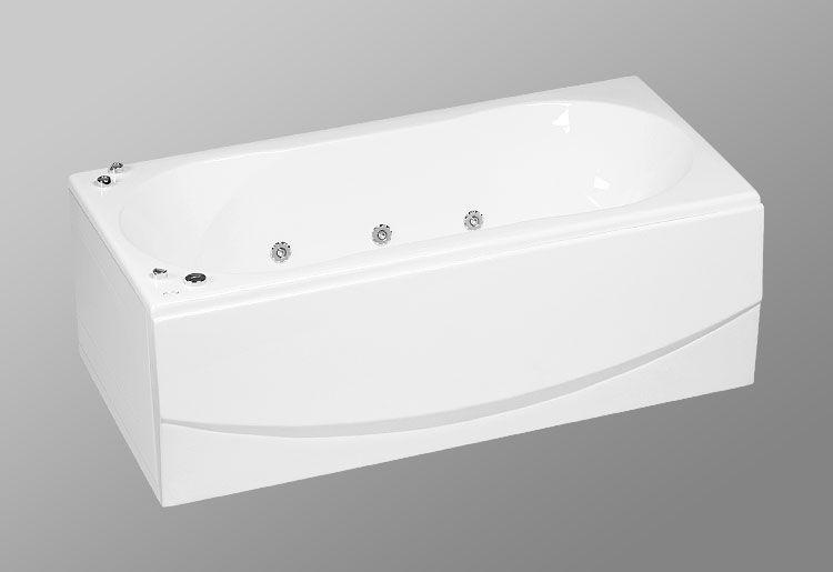 Акриловая ванна AKRILAN Rio MEDELLIN, 180*90 см, без гидромассажа