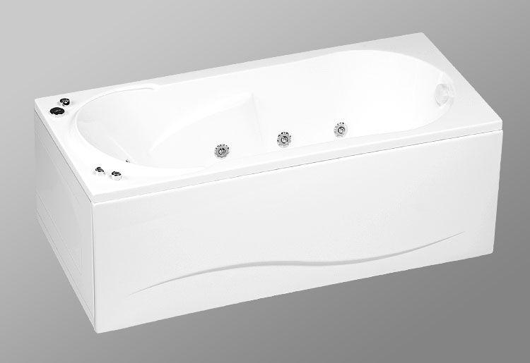 Акриловая ванна AKRILAN Rio ORINOKO, 170*80 см, без гидромассажа