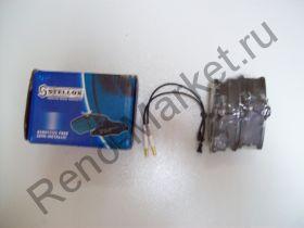 Тормозные колодки передние (Logan) Stellox 152032SX аналог 7701208265, 7701207066, 6001547911, 6001547619