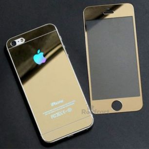 Защитное стекло Gold iPhone 5 , 5S , SE (комплект на обе стороны)