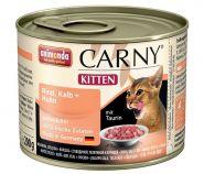 Animonda Carny Kitten Говядина с телятиной и курицей для котят (200 г)