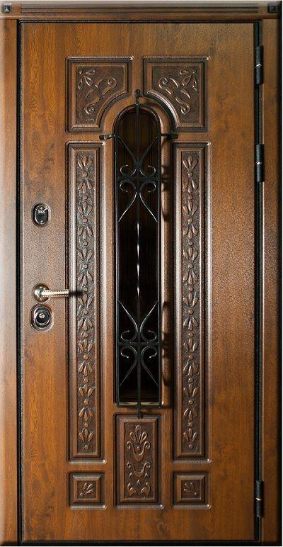 Металлическая дверь Русь