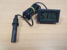 Термометр с гидрометром