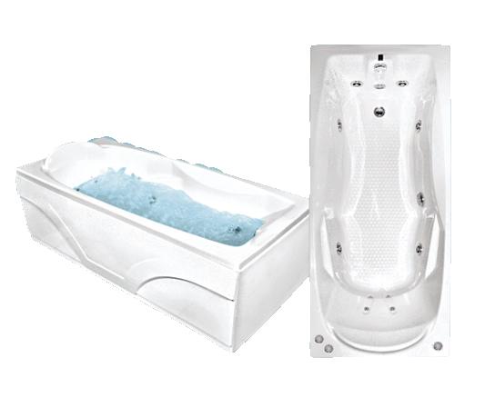 Акриловая ванна Bach Исланд 180*80 см, без гидромассажа