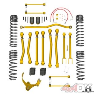 "JK Wrangler Duroflex Suspension, 2.5""/3.5"""